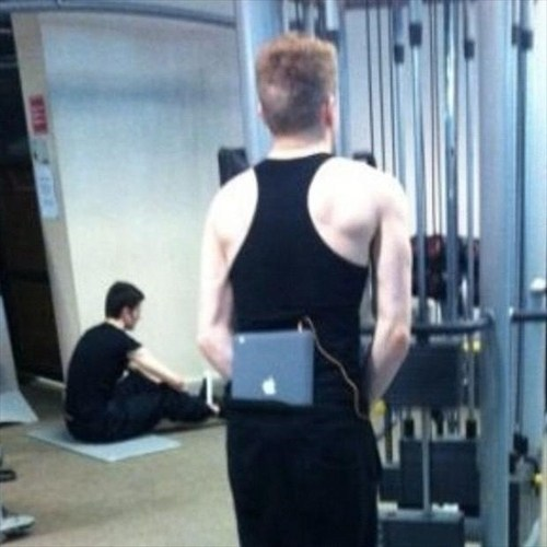 ipad,gym,workout