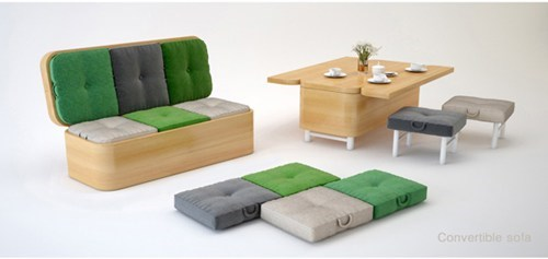 One Piece of Furniture With Many Possibilities