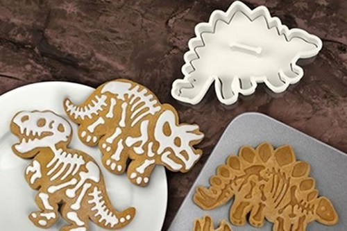 baking dinosaur cookie cutters cookies food - 7311467264