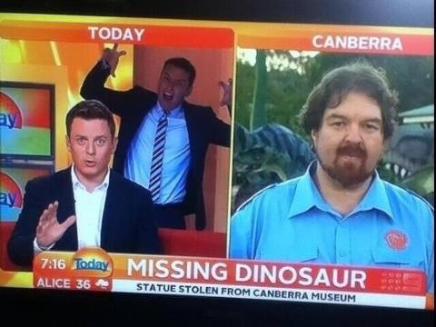 meteorologists,australia,weather,dinosaurs