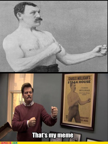 overly manly man most manly man ron swans manly - 7311888128