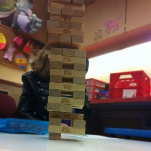 physics Gravity jenga