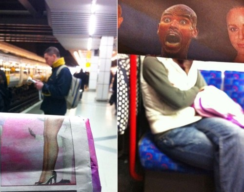 This is One Way to Entertain Yourself on the Commute