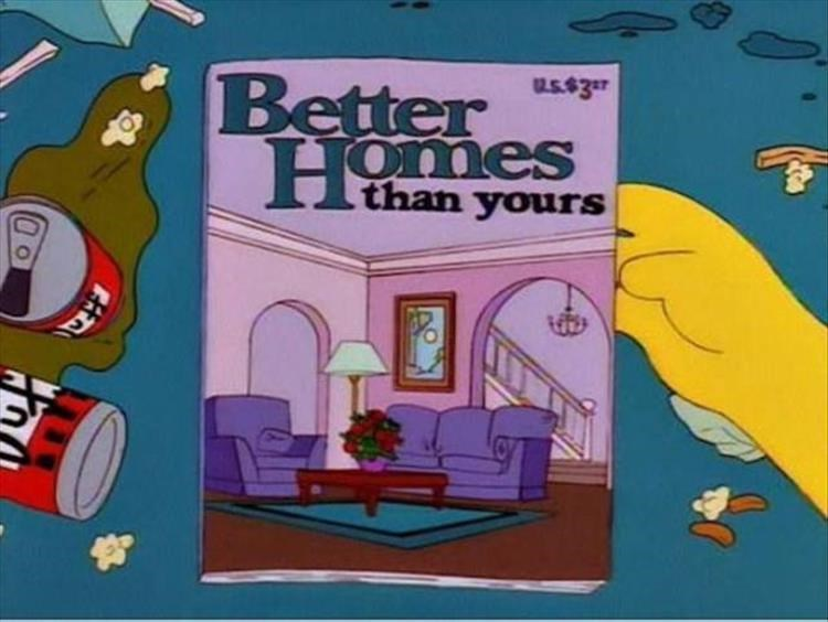 magazine covers from the simpsons