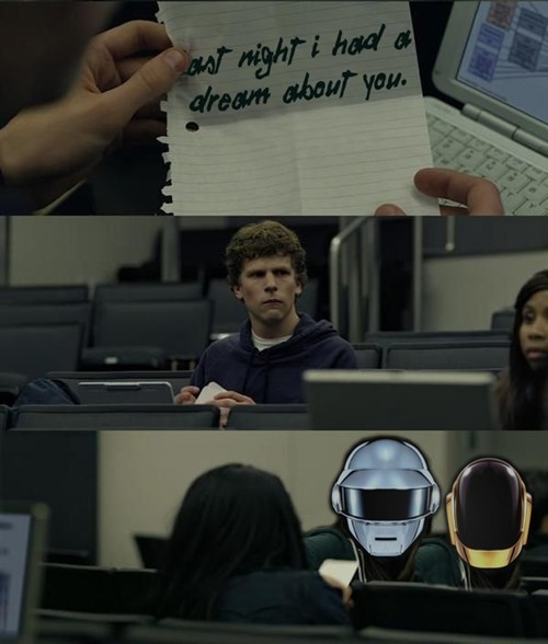 daft punk notes Mark Zuckerberg - 7312682240