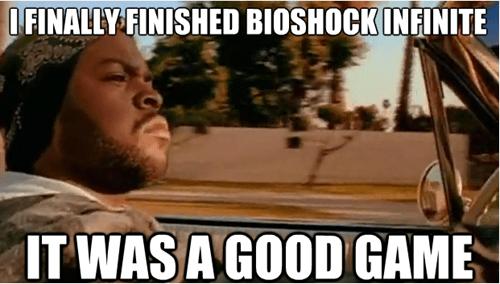 ice cube vigors bioshock infinite Memes - 7312804864