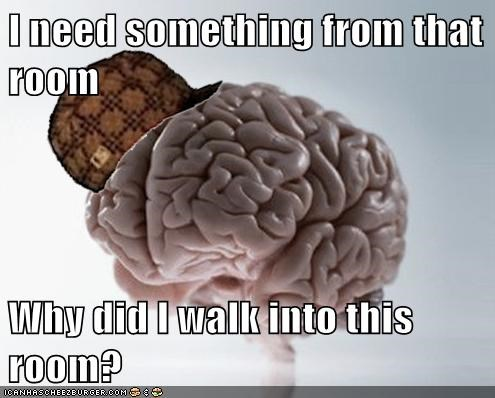 scumbag brain,forgetfulness
