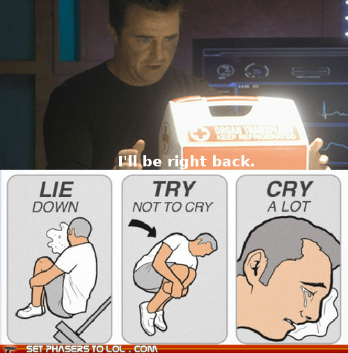 try not to cry,feels,stargate atlantis