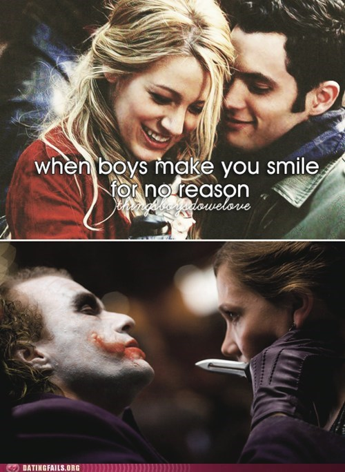 smiling the joker things boys do