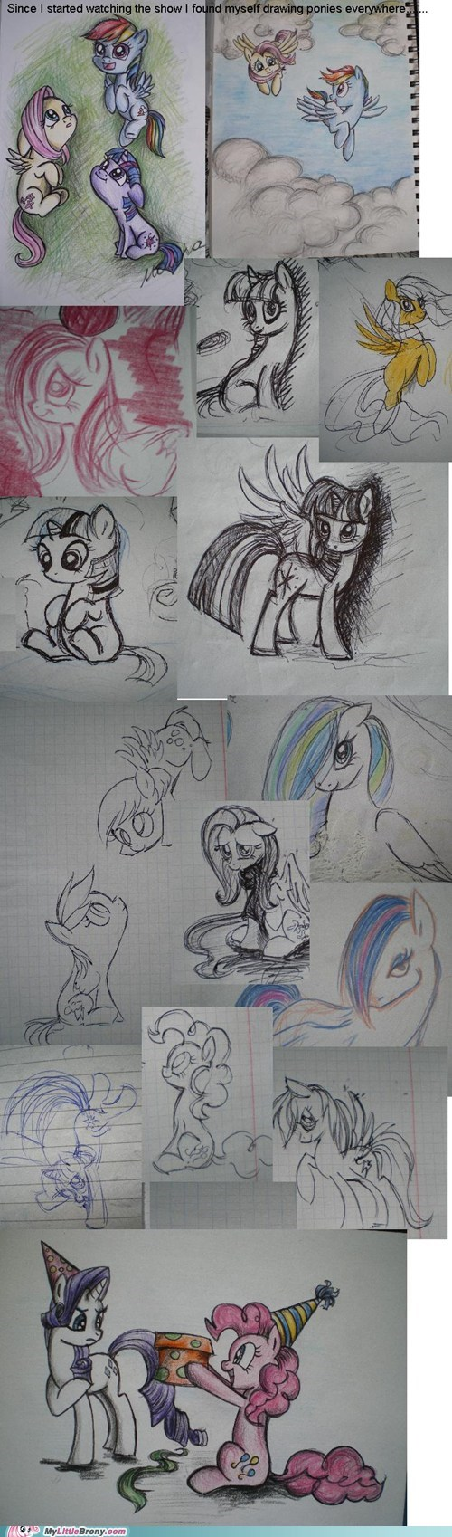 drawings my little pony ponies - 7315374848