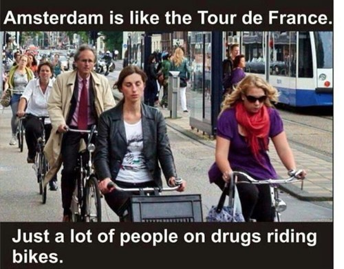 Amsterdam drugs tour de france
