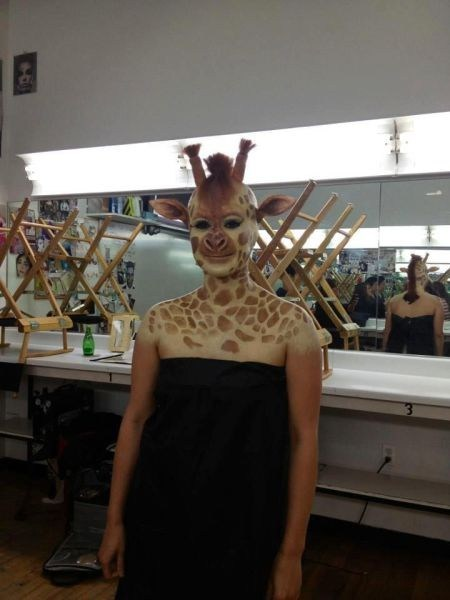 animals face paint giraffes - 7316224256