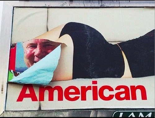 american apparel billboards faces - 7316240640