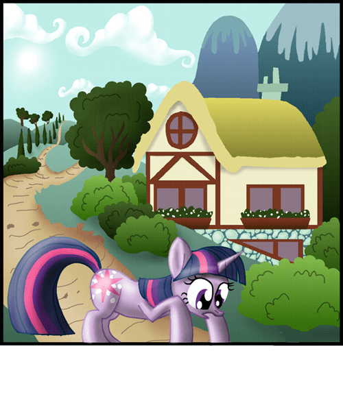 fourth wall twilight sparkle pinkie pie - 7316459776
