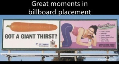 billboards,signs,butts