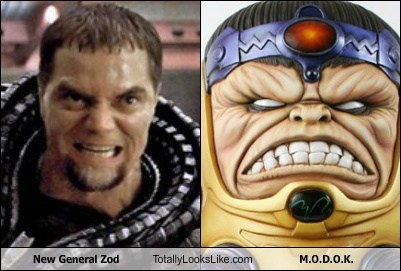general zod,totally looks like,modok