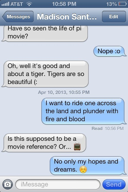 life of pi iPhones tigers fire and blood - 7317673984