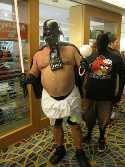 Babies,cosplay,star wars,darth vader