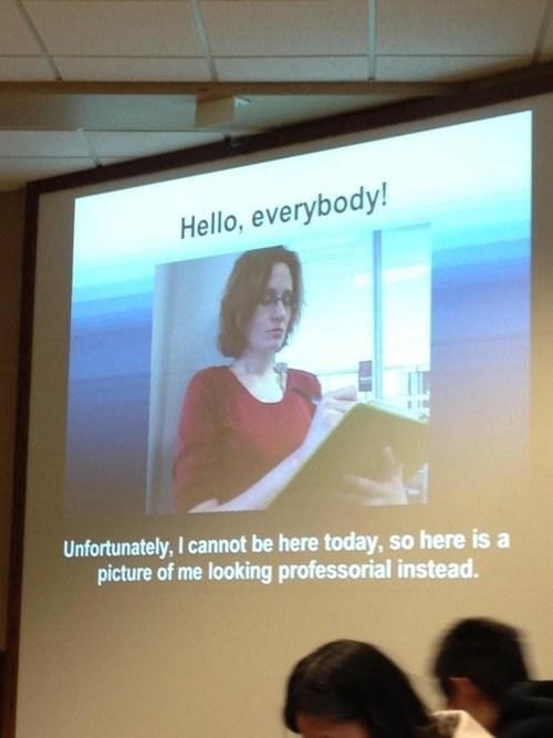 absent,projectors,professionals