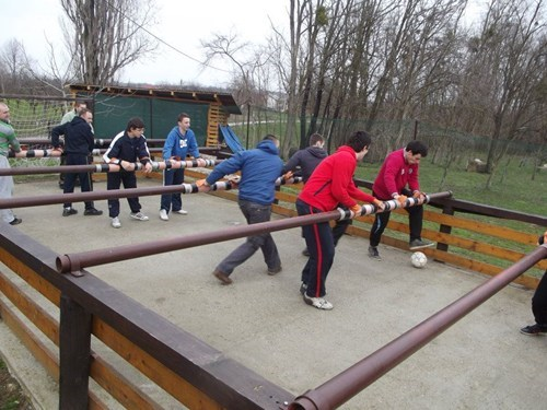 fun game playground foosball - 7318562048