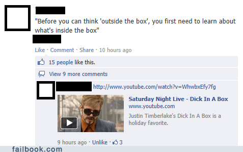 dck-in-a-box Justin Timberlake saturday night live failbook
