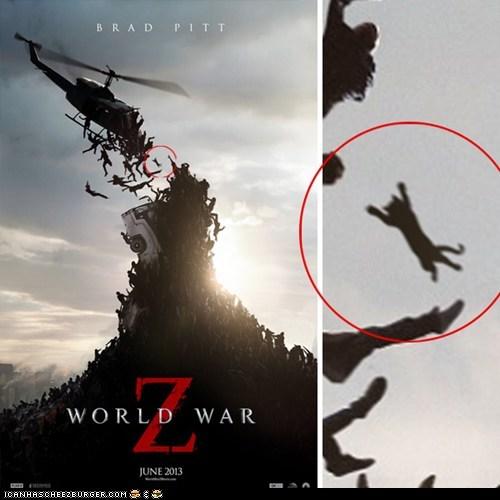 zombie world war z Cats - 7319307520