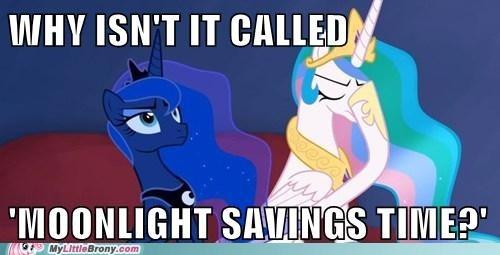 moonlight savings time daylight savings time celestia luna - 7319357952