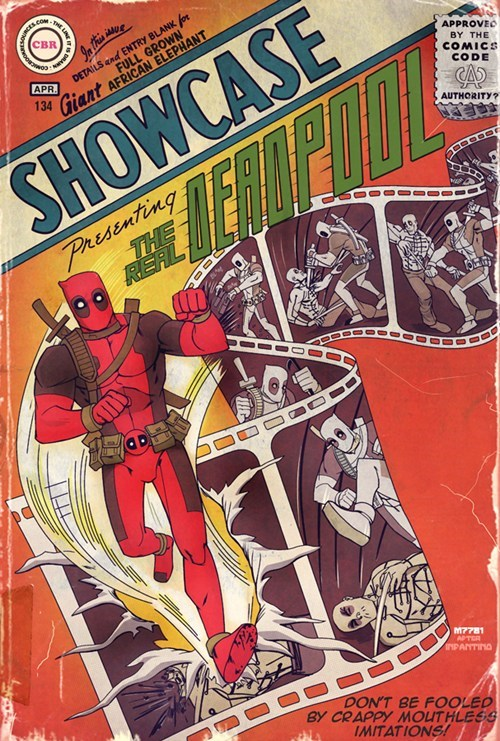 real wtf art deadpool movies - 7319520768