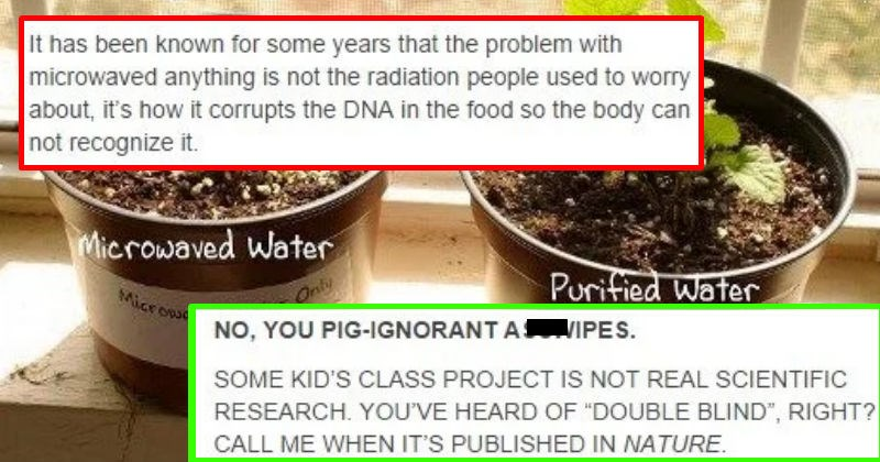 evidence radiation flat earth facts tumblr conspiracy lies experiment anti-vaxxers scientists cancer ridiculous test education science DNA knowledge stupid microwave - 7321349