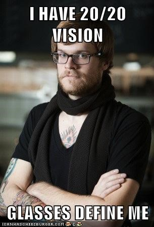 vision hipsters glasses - 7321434112