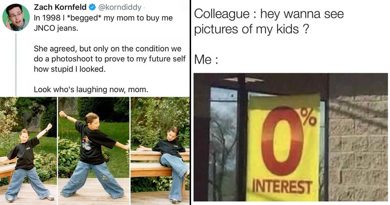 cover image about pics of a kid in 1998, not wanting to see your coworkers kids