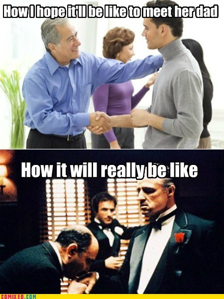 meeting godfather relationships handshakes - 7321672448