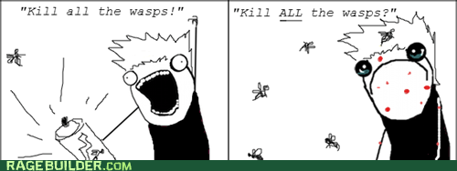 wasps all the things - 7321686272