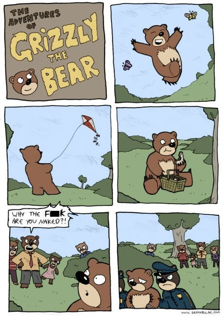 bears,au naturale,comics