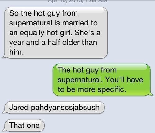 iPhones supernatural jared padalecki that guy - 7322094848