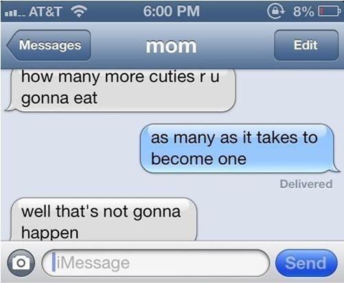 iPhones,cuties,not gonna happen