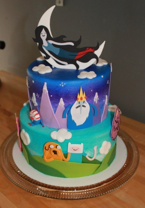 adventure time cake win - 7322330368
