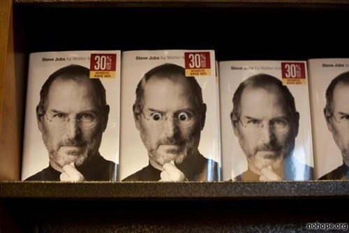 googly eyes,apple,steve jobs