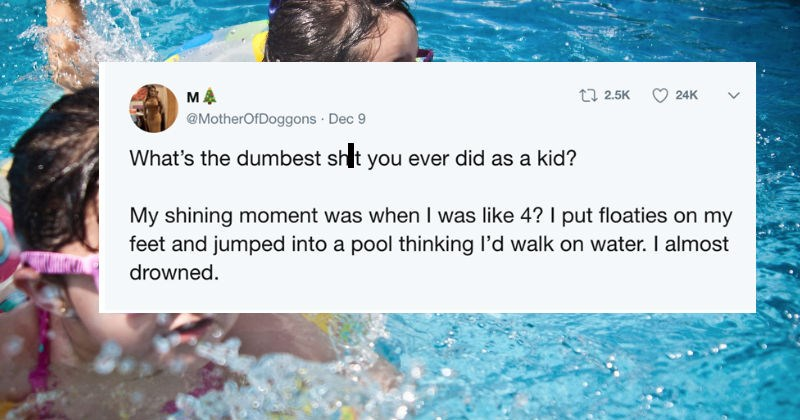 twitter FAIL kids cringe parenting ridiculous dangerous stupid - 7322629