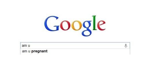pregnancy,auto complete,google