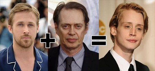 mindblown,totally looks like,Ryan Gosling,steve buscemi,macaulay culkin
