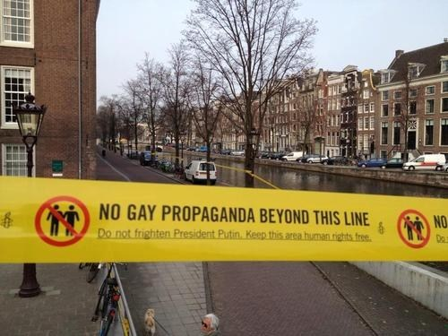 Amsterdam,russia,human rights,gay rights,The Netherlands,Vladimir Putin,world news