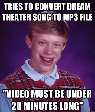 bad luck brian Dream Theater mp3s - 7322790912