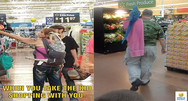 people of walmart strange and unusual