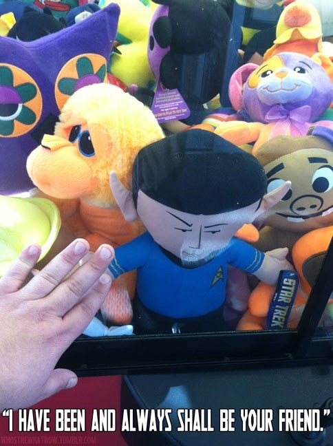Spock nerdgasm Star Trek