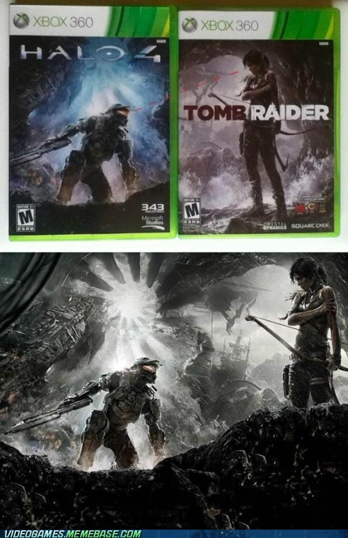 art halo Tomb Raider - 7323265024