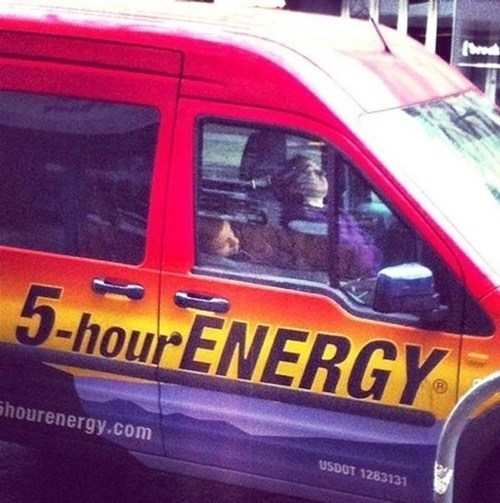 five hour energy van irony - 7323415296