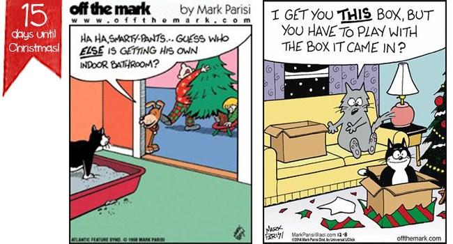 christmas off the mark funny comics funny animals web comics - 7323653