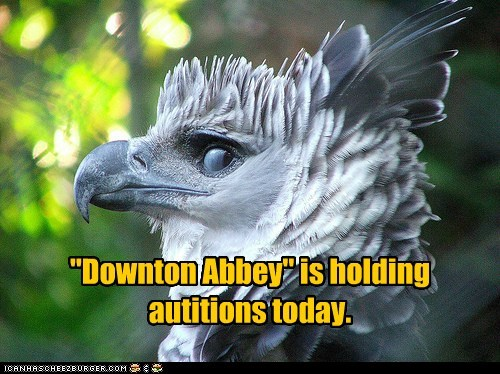 """""""Downton Abbey"""" is holding autitions today."""