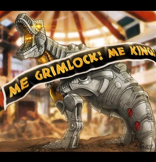 Fan Art grimlock - 7324090368